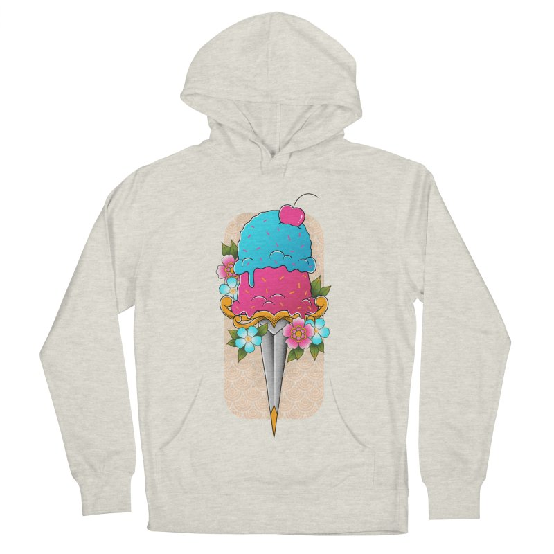 Deadly Dessert Women's French Terry Pullover Hoody by godzillarge's Artist Shop