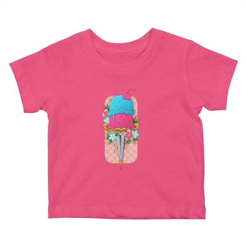 Deadly Dessert Kids Baby T-Shirt by godzillarge's Artist Shop