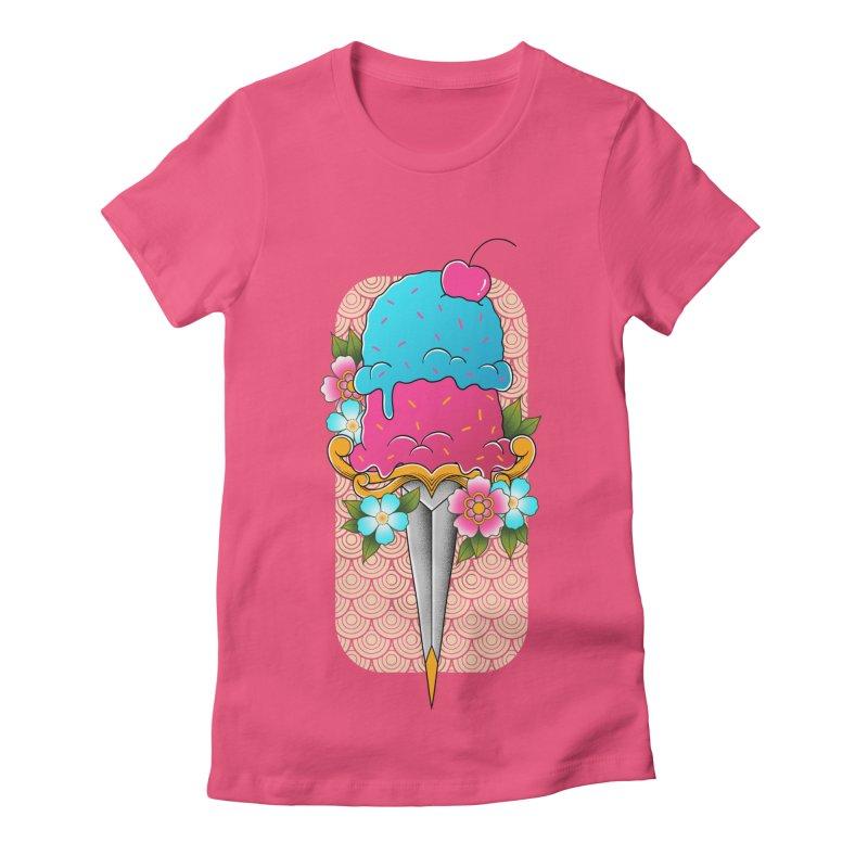 Deadly Dessert Women's T-Shirt by godzillarge's Artist Shop