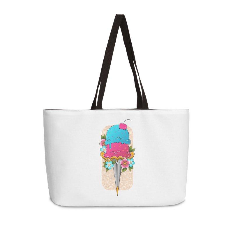 Deadly Dessert Accessories Weekender Bag Bag by godzillarge's Artist Shop