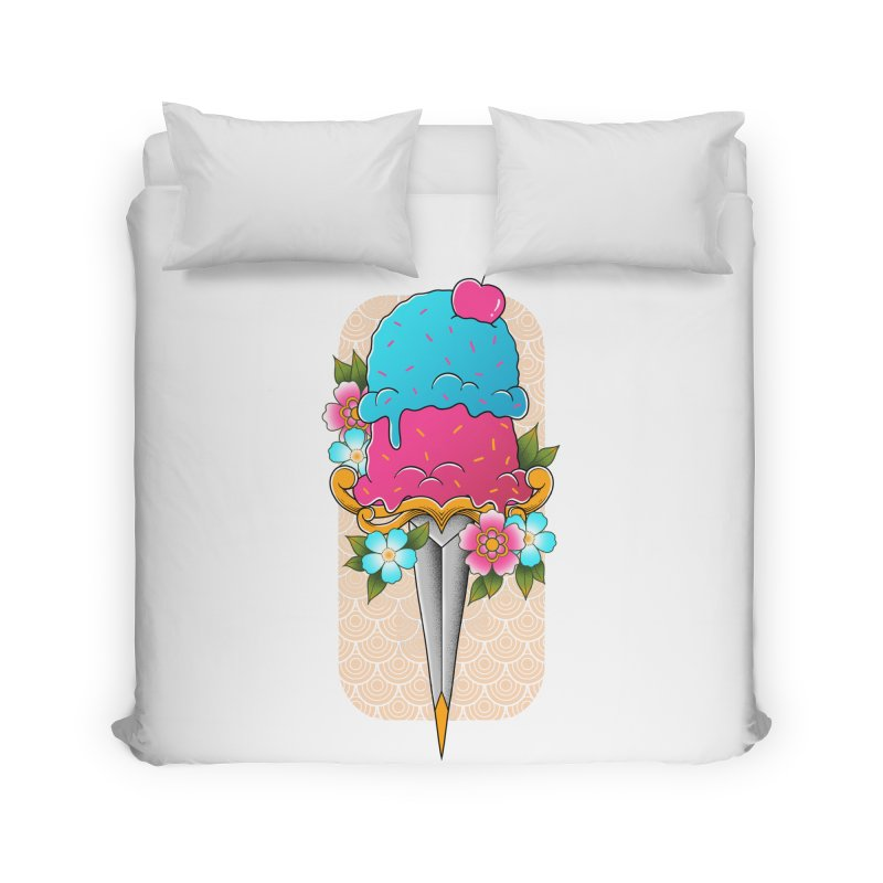Deadly Dessert Home Duvet by godzillarge's Artist Shop
