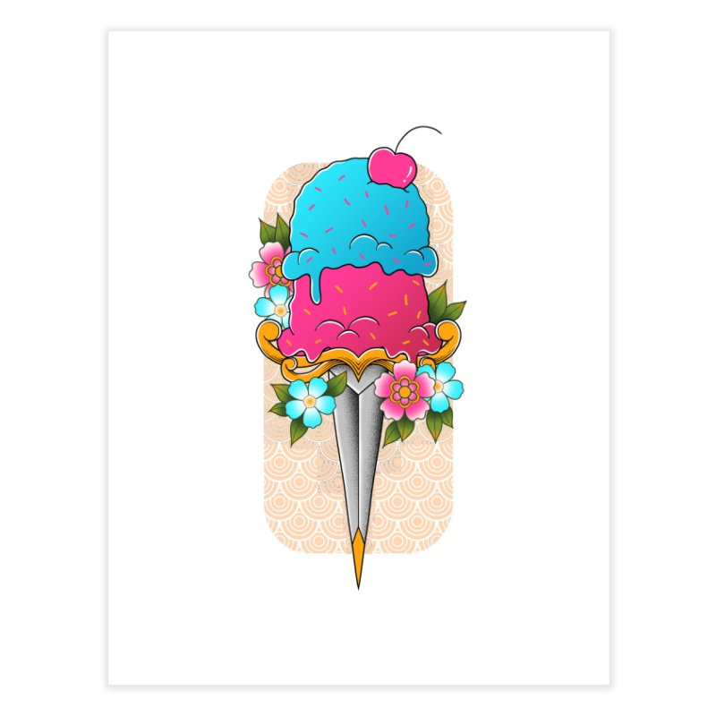 Deadly Dessert Home Fine Art Print by godzillarge's Artist Shop