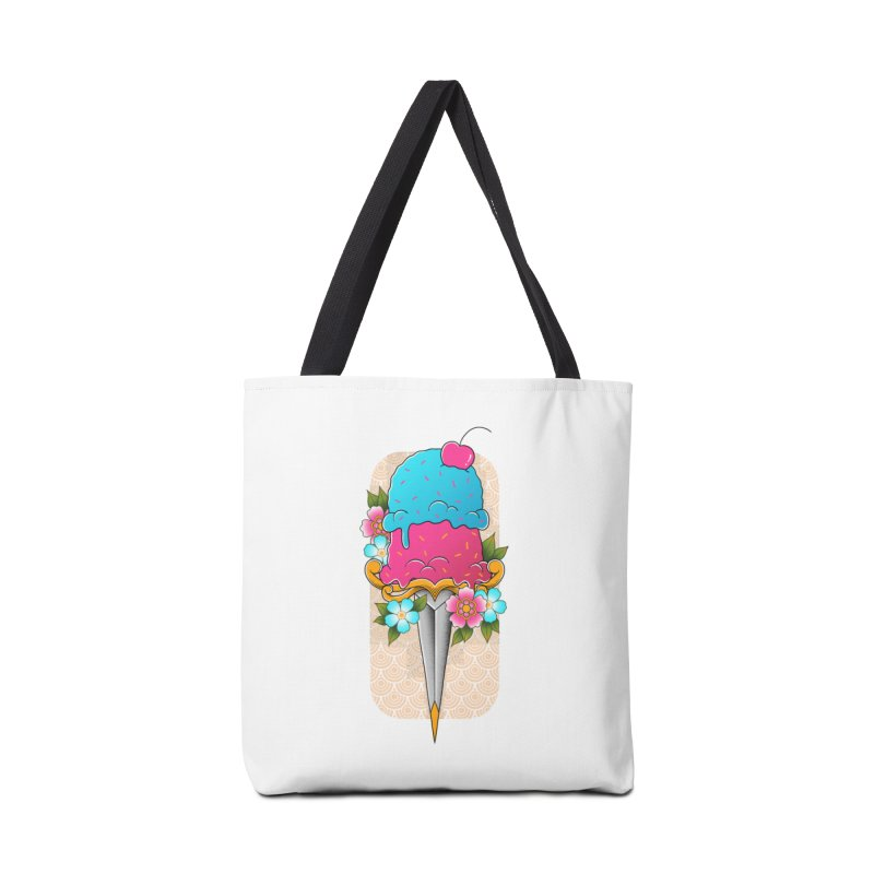 Deadly Dessert Accessories Tote Bag Bag by godzillarge's Artist Shop