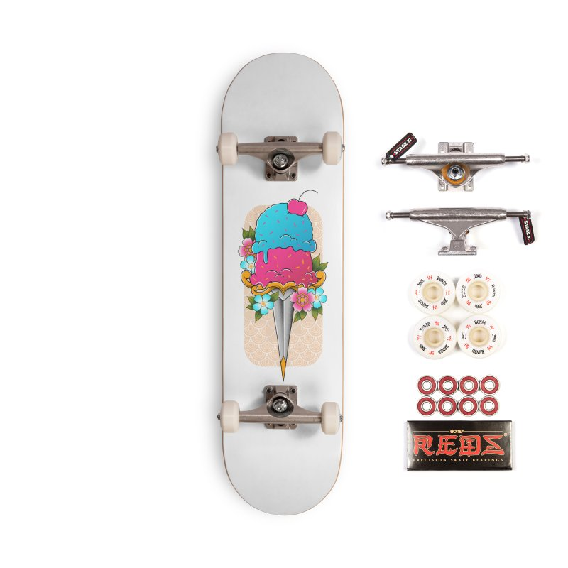 Deadly Dessert Accessories Complete - Pro Skateboard by godzillarge's Artist Shop