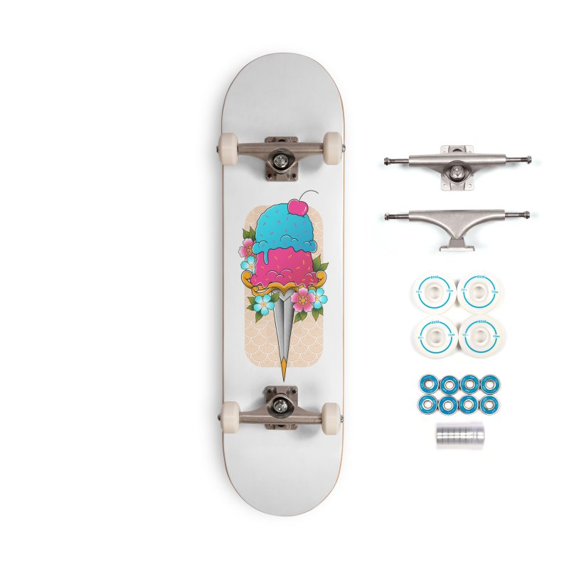 Deadly Dessert Accessories Complete - Basic Skateboard by godzillarge's Artist Shop