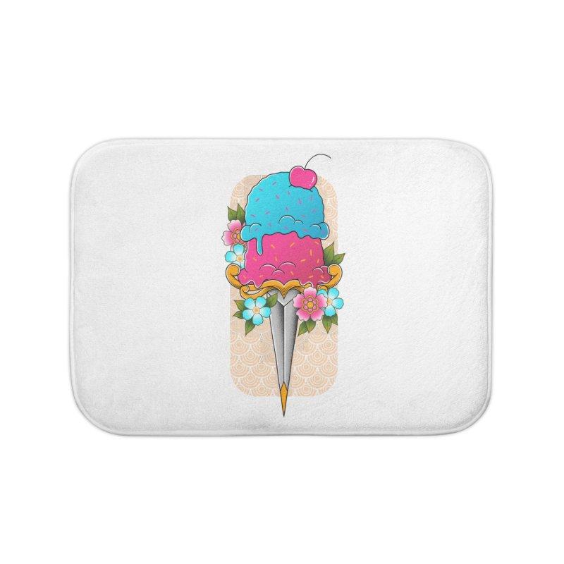 Deadly Dessert Home Bath Mat by godzillarge's Artist Shop