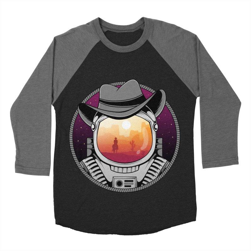 Cosmic Cowboy Men's Baseball Triblend Longsleeve T-Shirt by godzillarge's Artist Shop