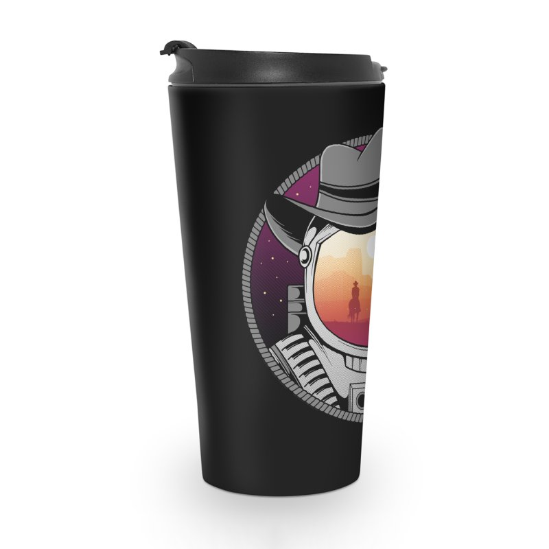 Cosmic Cowboy Accessories Travel Mug by godzillarge's Artist Shop