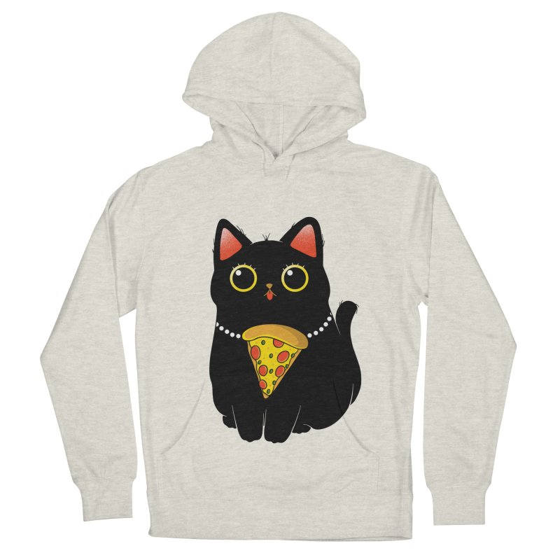 Pizza Protector Women's French Terry Pullover Hoody by godzillarge's Artist Shop