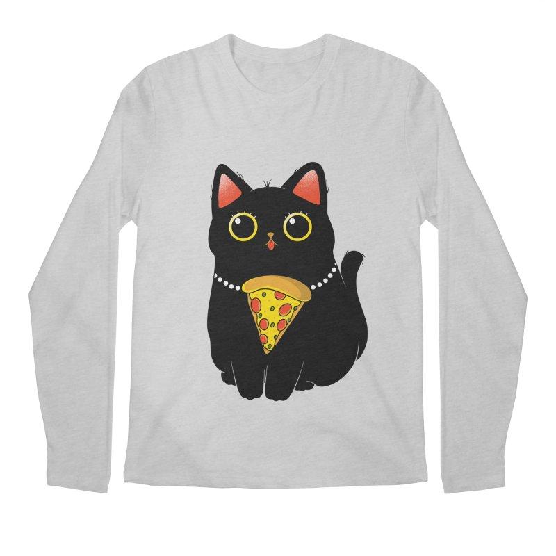 Pizza Protector Men's Longsleeve T-Shirt by godzillarge's Artist Shop