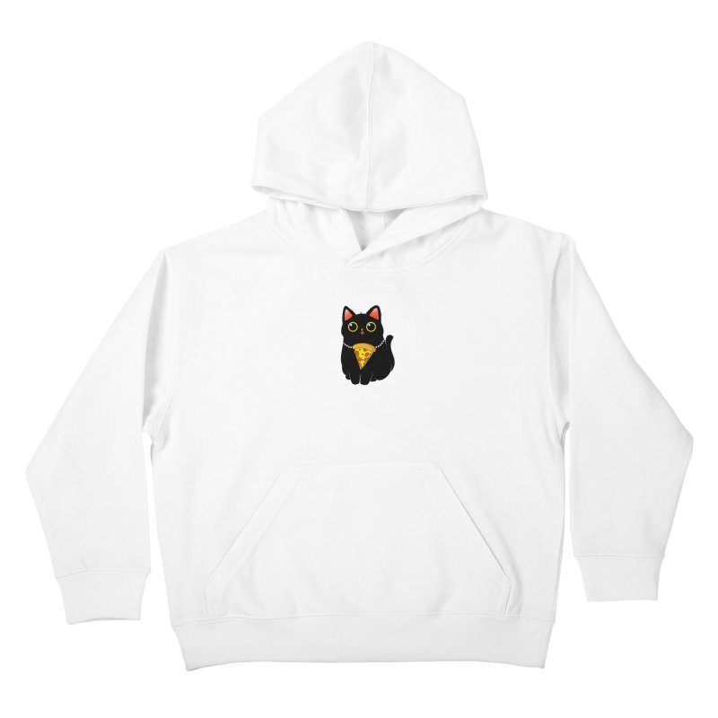 Pizza Protector Kids Pullover Hoody by godzillarge's Artist Shop