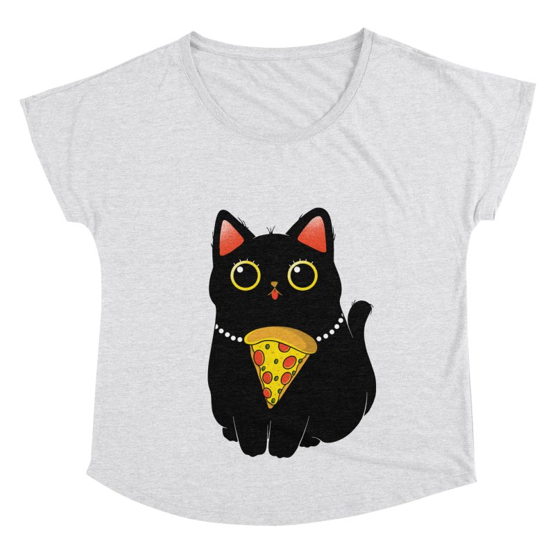 Pizza Protector Women's Scoop Neck by godzillarge's Artist Shop