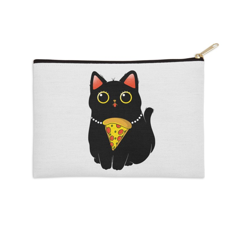 Pizza Protector Accessories Zip Pouch by godzillarge's Artist Shop