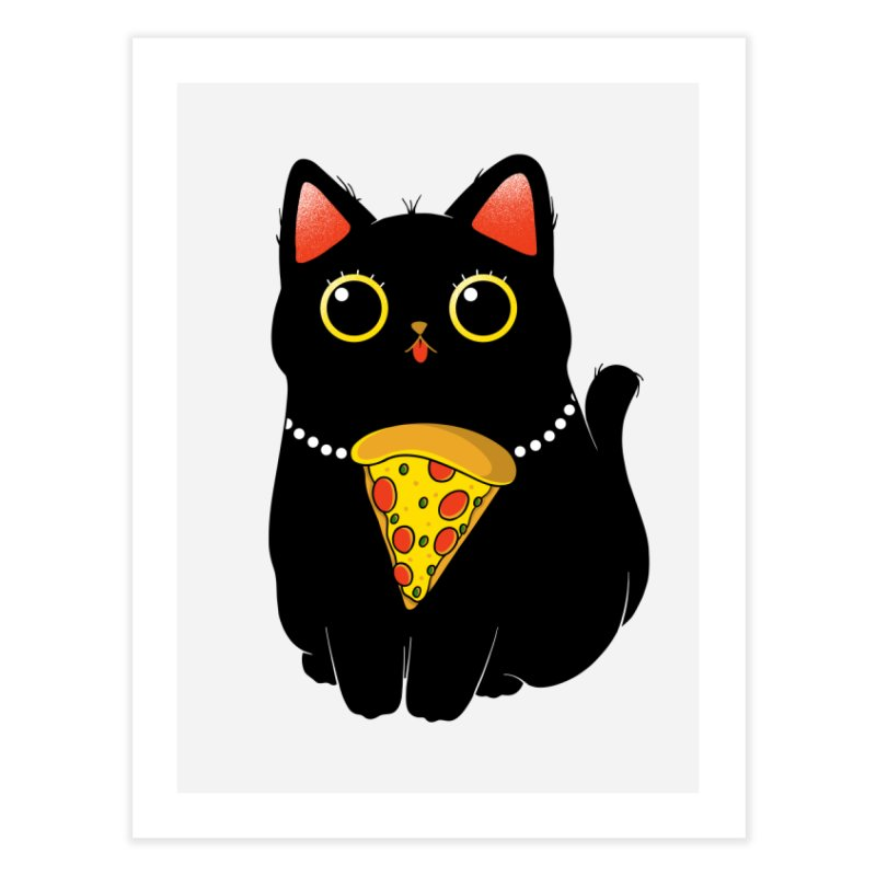 Pizza Protector Home Fine Art Print by godzillarge's Artist Shop