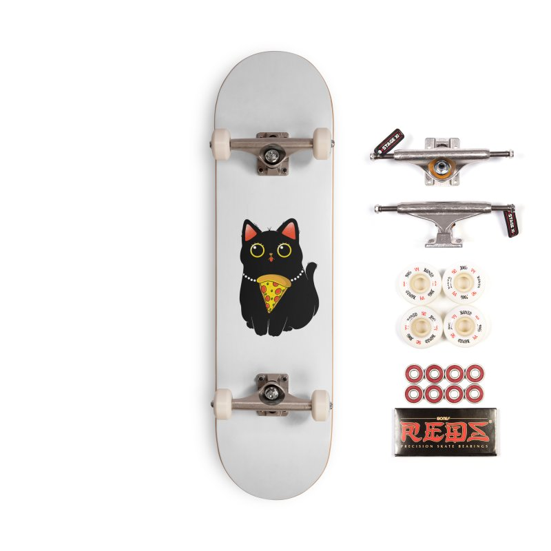 Pizza Protector Accessories Complete - Pro Skateboard by godzillarge's Artist Shop