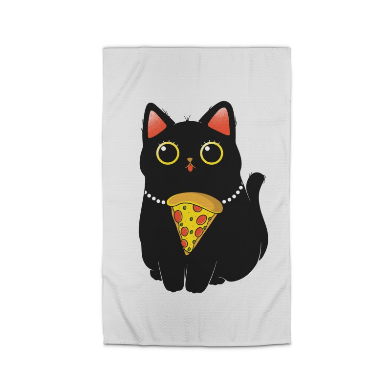 Pizza Protector Home Rug by godzillarge's Artist Shop