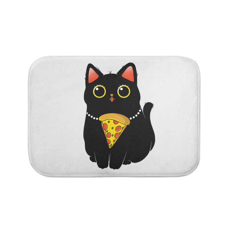 Pizza Protector Home Bath Mat by godzillarge's Artist Shop