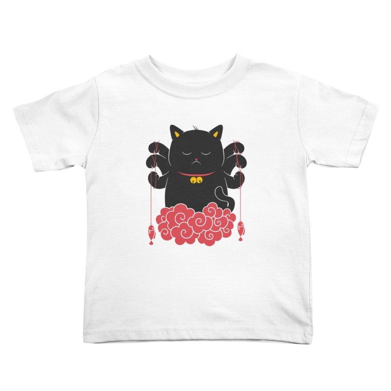 Pawsitive Activity Kids Toddler T-Shirt by godzillarge's Artist Shop