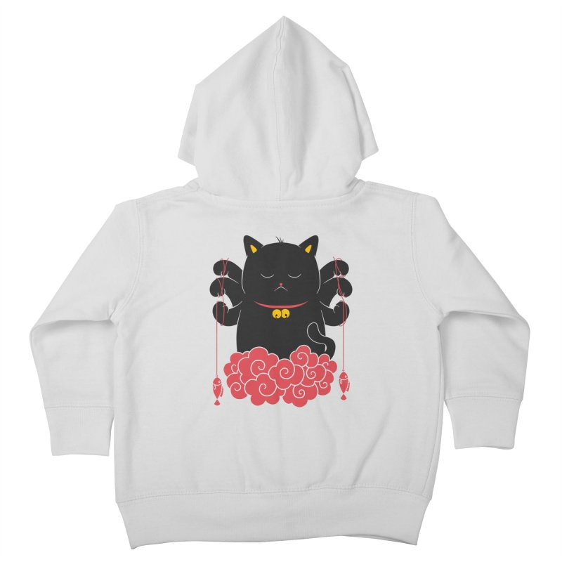 Pawsitive Activity Kids Toddler Zip-Up Hoody by godzillarge's Artist Shop