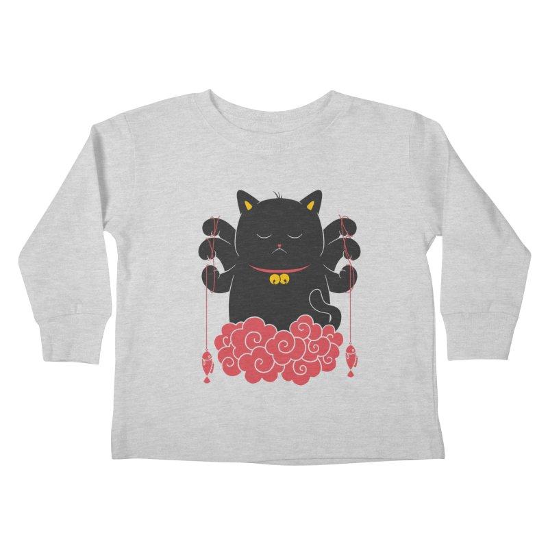 Pawsitive Activity Kids Toddler Longsleeve T-Shirt by godzillarge's Artist Shop