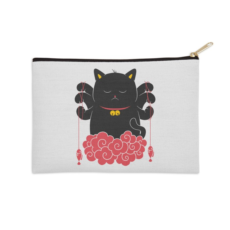 Pawsitive Activity Accessories Zip Pouch by godzillarge's Artist Shop