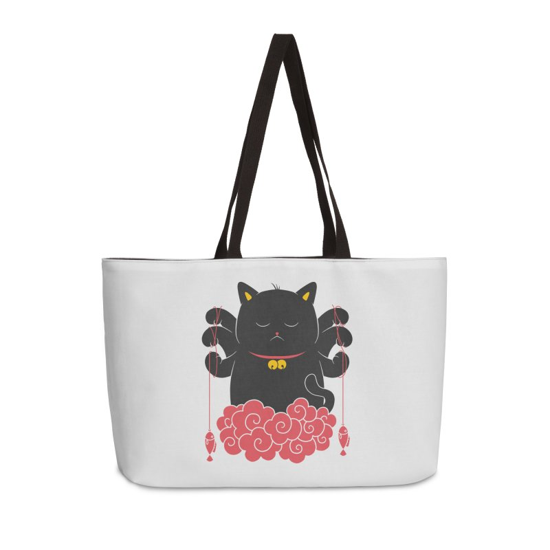 Pawsitive Activity Accessories Weekender Bag Bag by godzillarge's Artist Shop