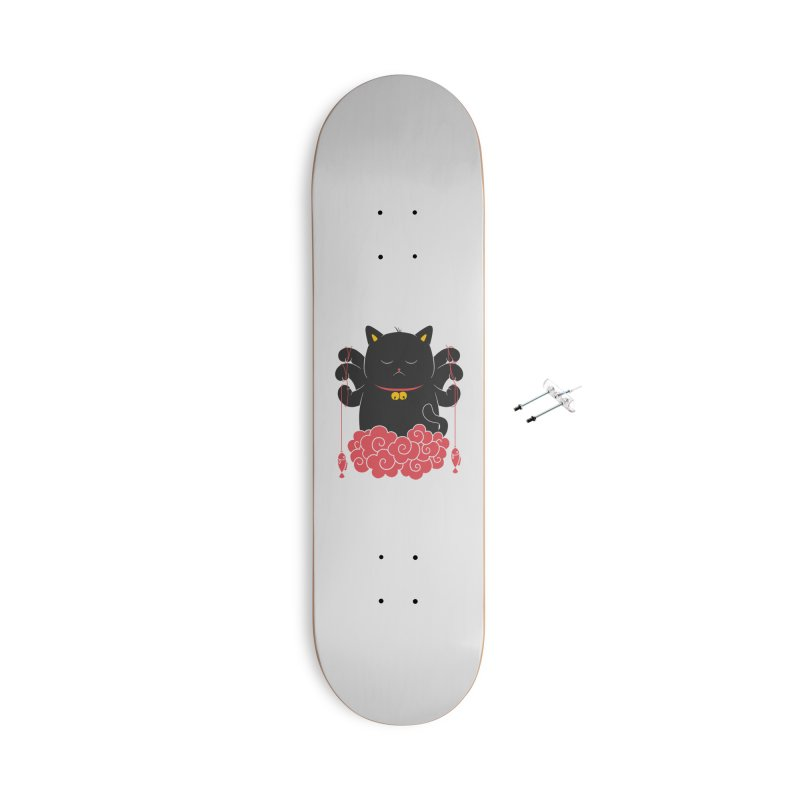 Pawsitive Activity Accessories With Hanging Hardware Skateboard by godzillarge's Artist Shop