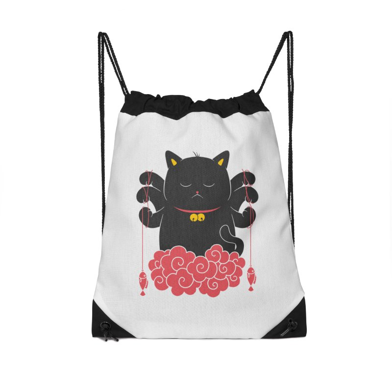 Pawsitive Activity Accessories Drawstring Bag Bag by godzillarge's Artist Shop