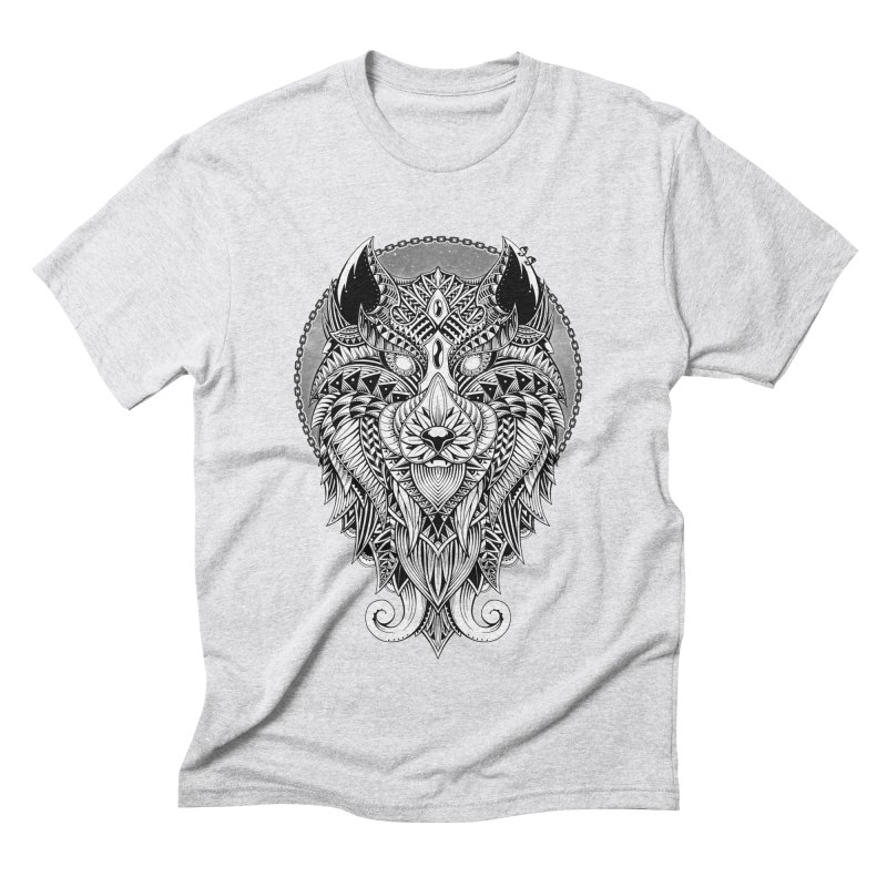 Wild Spirit Men's Triblend T-shirt by godzillarge's Artist Shop