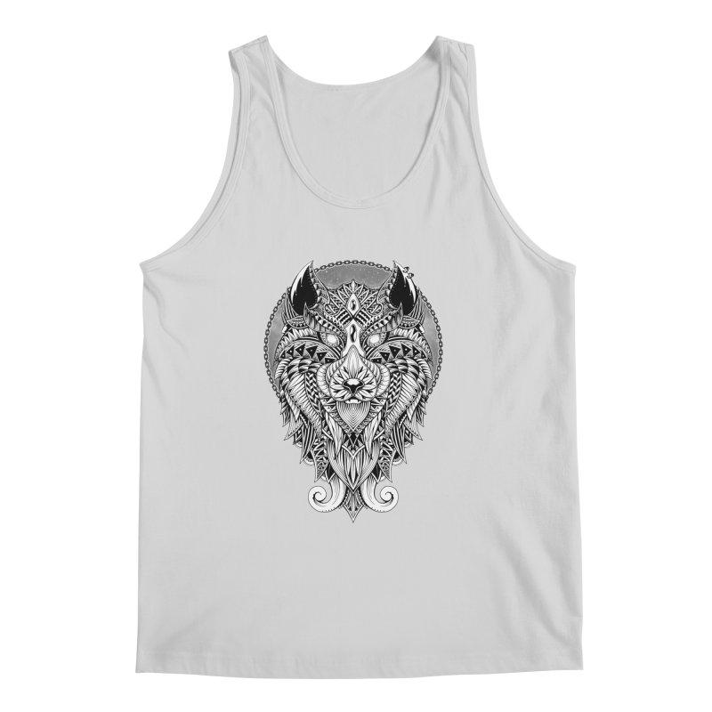 Wild Spirit Men's Tank by godzillarge's Artist Shop