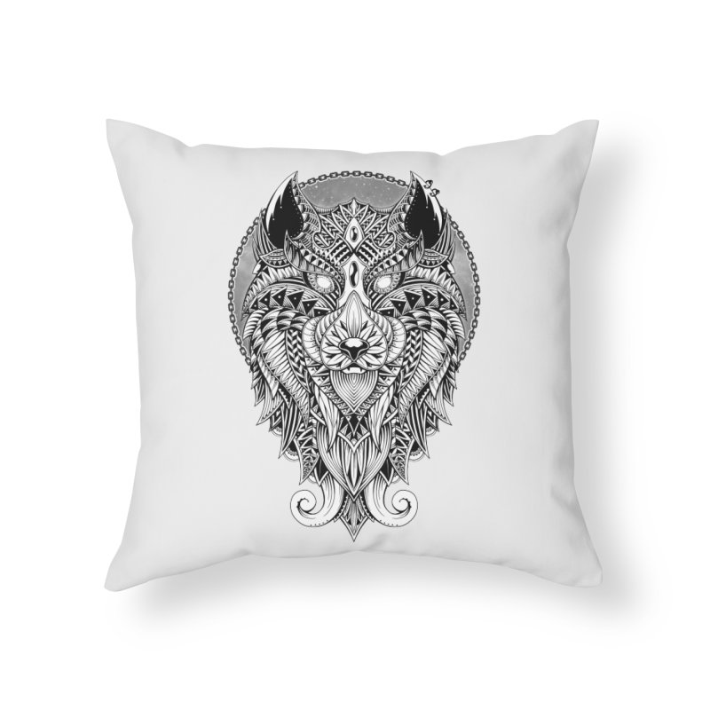 Wild Spirit Home Throw Pillow by godzillarge's Artist Shop