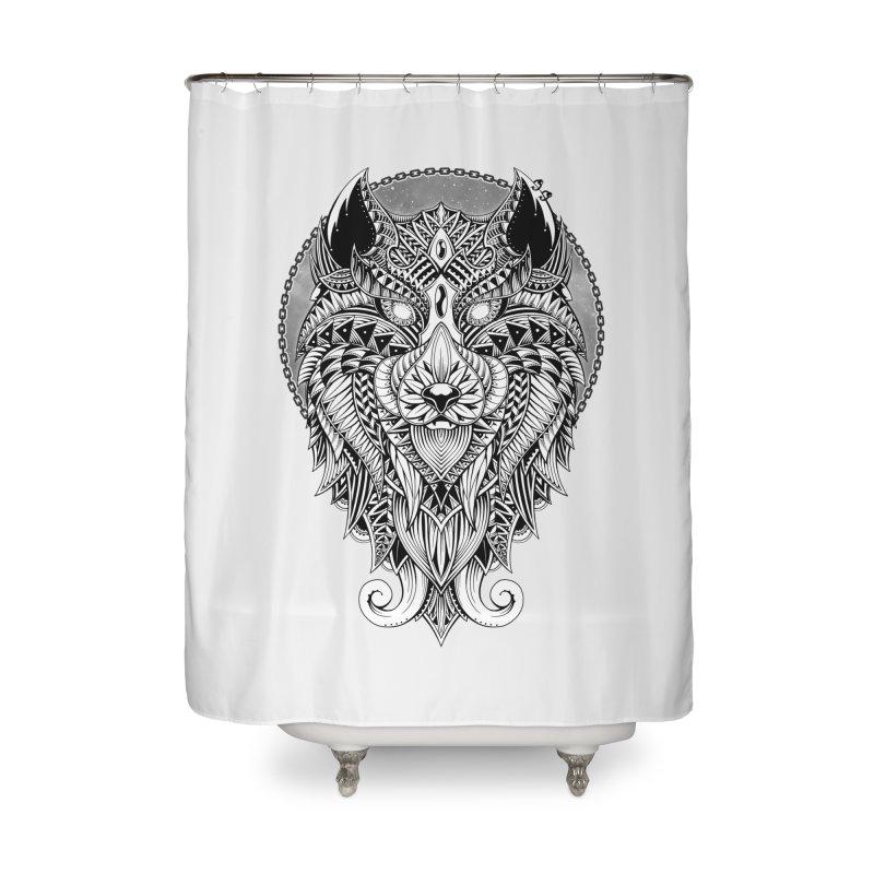 Wild Spirit Home Shower Curtain by godzillarge's Artist Shop