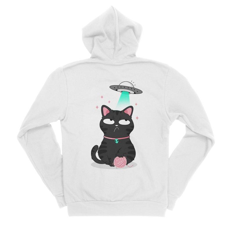 Leave Meow Alone Women's Zip-Up Hoody by godzillarge's Artist Shop