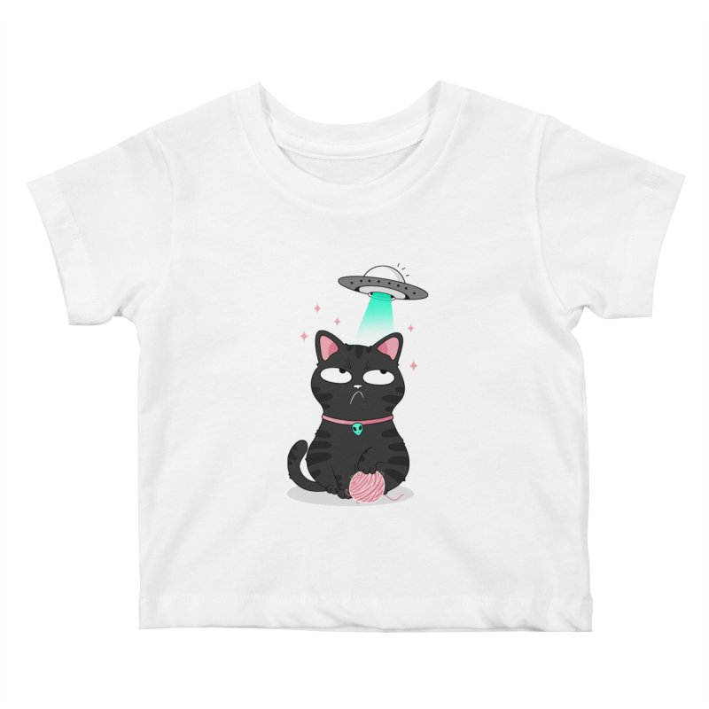Leave Meow Alone Kids Baby T-Shirt by godzillarge's Artist Shop