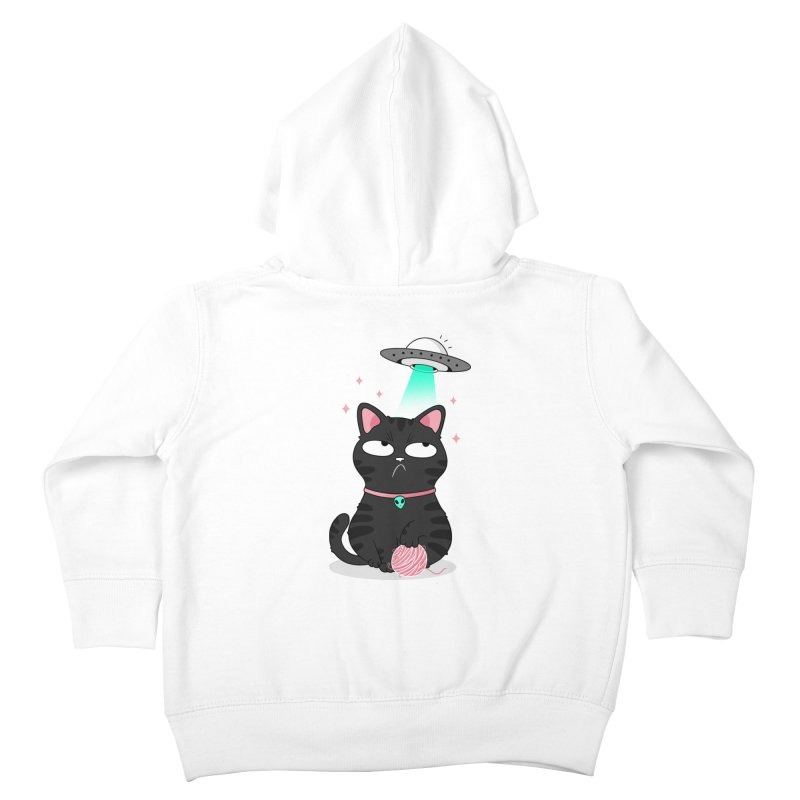 Leave Meow Alone Kids Toddler Zip-Up Hoody by godzillarge's Artist Shop