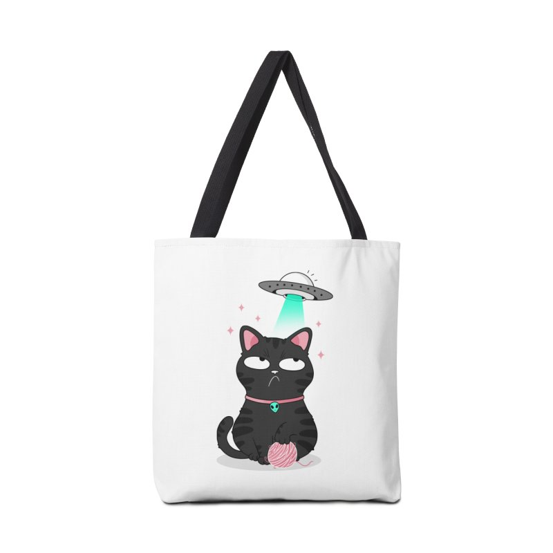 Leave Meow Alone Accessories Tote Bag Bag by godzillarge's Artist Shop