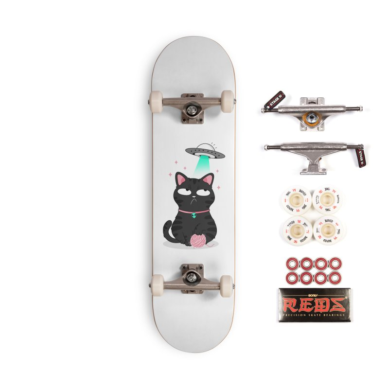Leave Meow Alone Accessories Complete - Pro Skateboard by godzillarge's Artist Shop