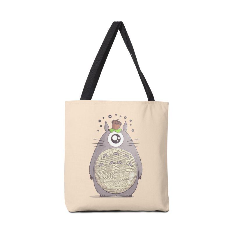 The Strange Neighbor Accessories Bag by godzillarge's Artist Shop