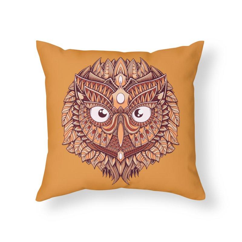 Autumn Home Throw Pillow by godzillarge's Artist Shop