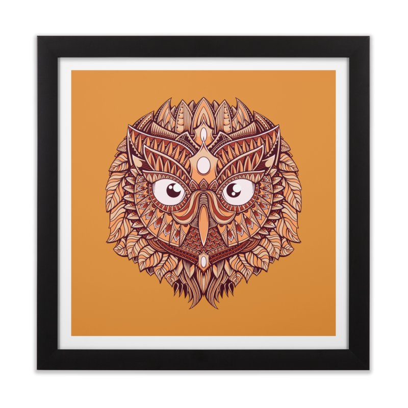 Autumn Home Framed Fine Art Print by godzillarge's Artist Shop