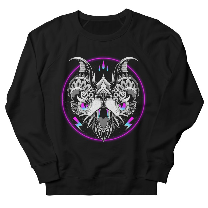 Retrowave Bat Women's Sweatshirt by godzillarge's Artist Shop