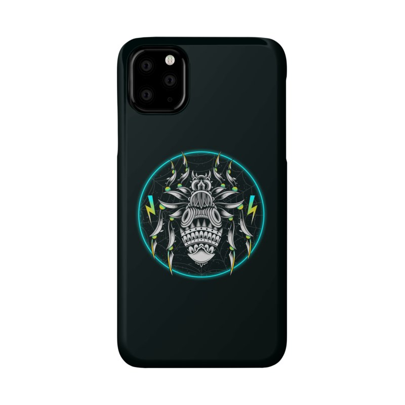 Retrowave Bat Accessories Phone Case by godzillarge's Artist Shop