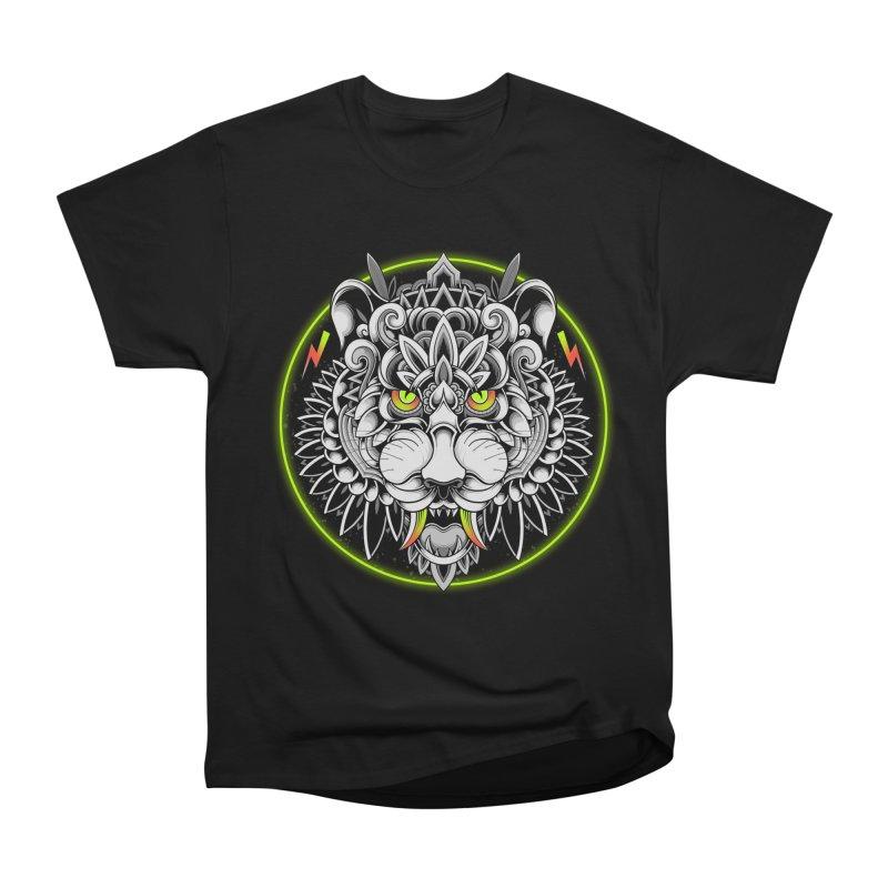 Retrowave Tiger Women's T-Shirt by godzillarge's Artist Shop