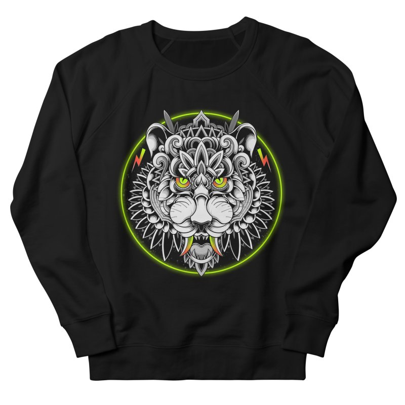 Retrowave Tiger Women's Sweatshirt by godzillarge's Artist Shop