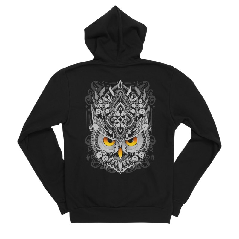 Wisdom Women's Zip-Up Hoody by godzillarge's Artist Shop