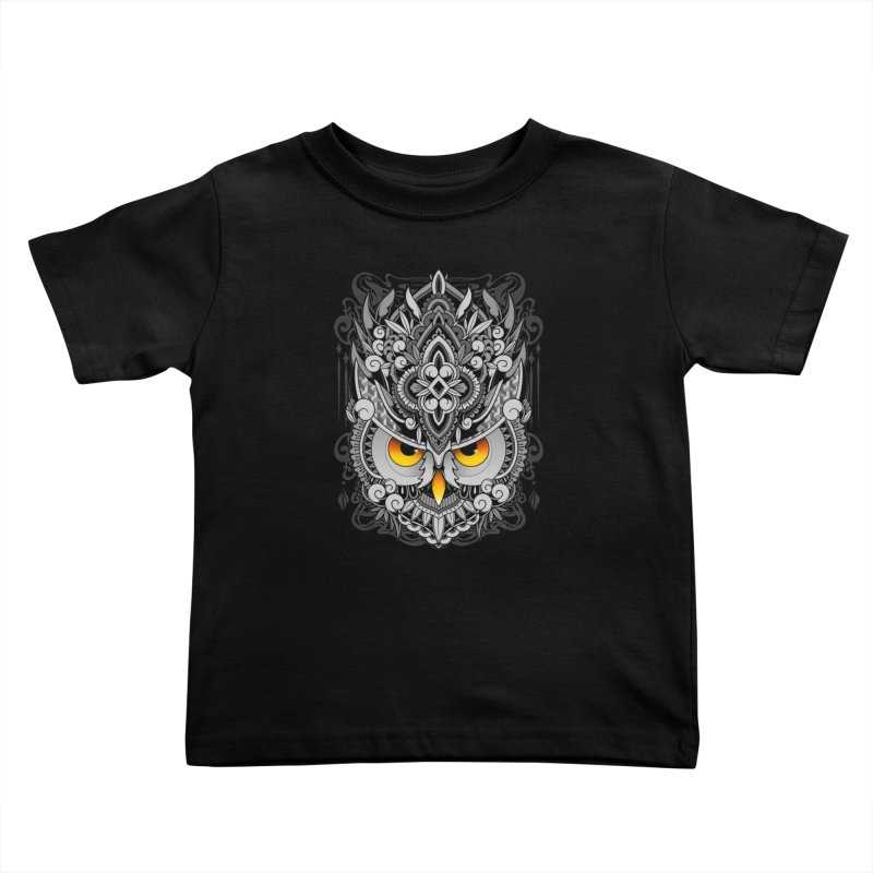 Wisdom Kids Toddler T-Shirt by godzillarge's Artist Shop