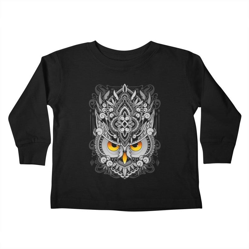 Wisdom Kids Toddler Longsleeve T-Shirt by godzillarge's Artist Shop