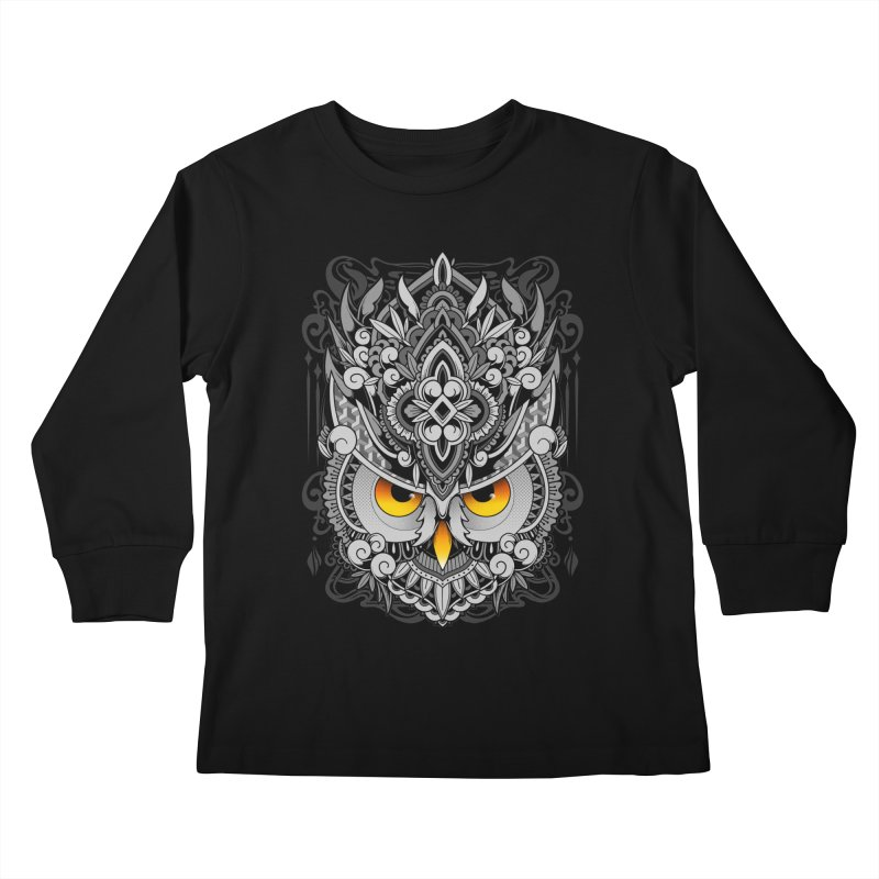 Wisdom Kids Longsleeve T-Shirt by godzillarge's Artist Shop