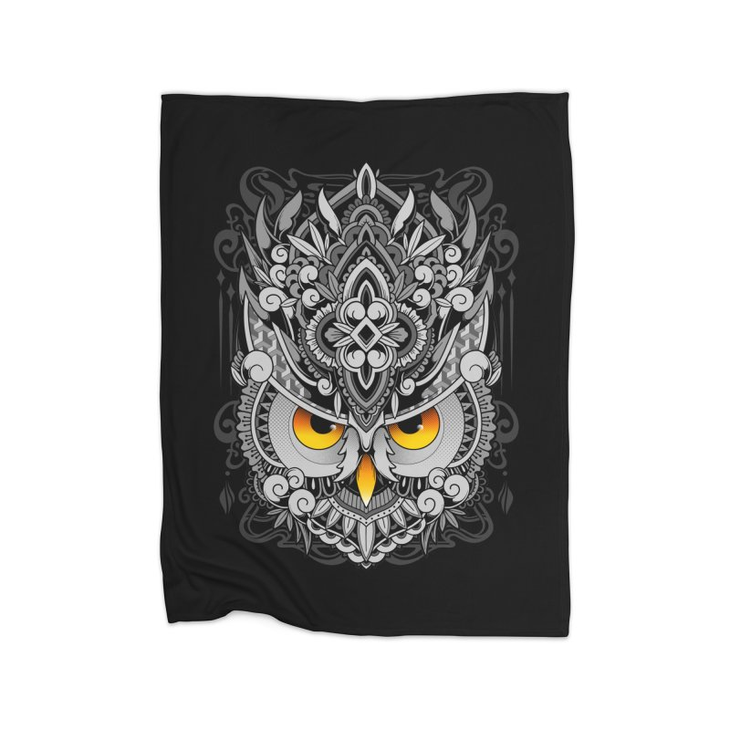 Wisdom Home Blanket by godzillarge's Artist Shop