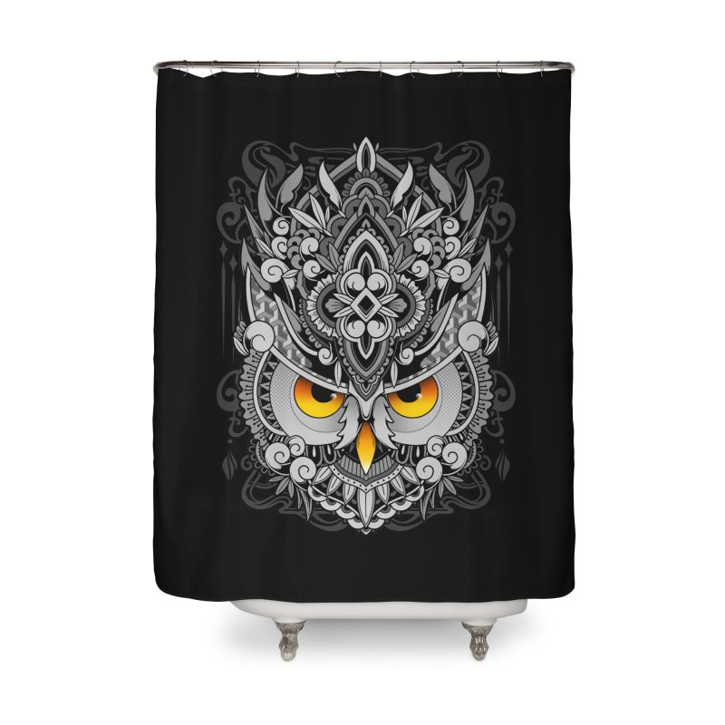Wisdom Home Shower Curtain by godzillarge's Artist Shop
